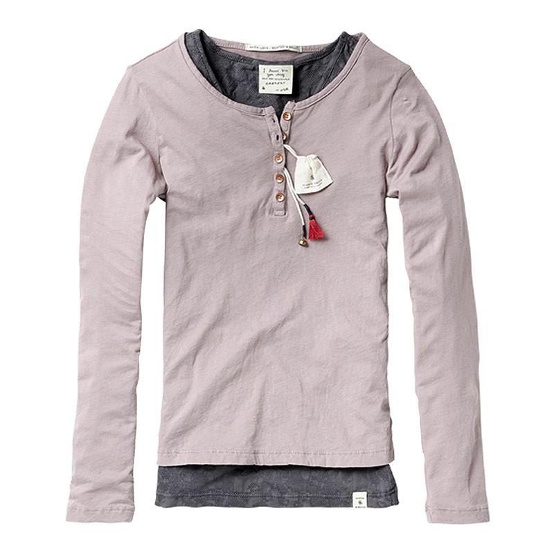 scotch r 39 belle 2 in 1 shirt jersey granddad theresa. Black Bedroom Furniture Sets. Home Design Ideas