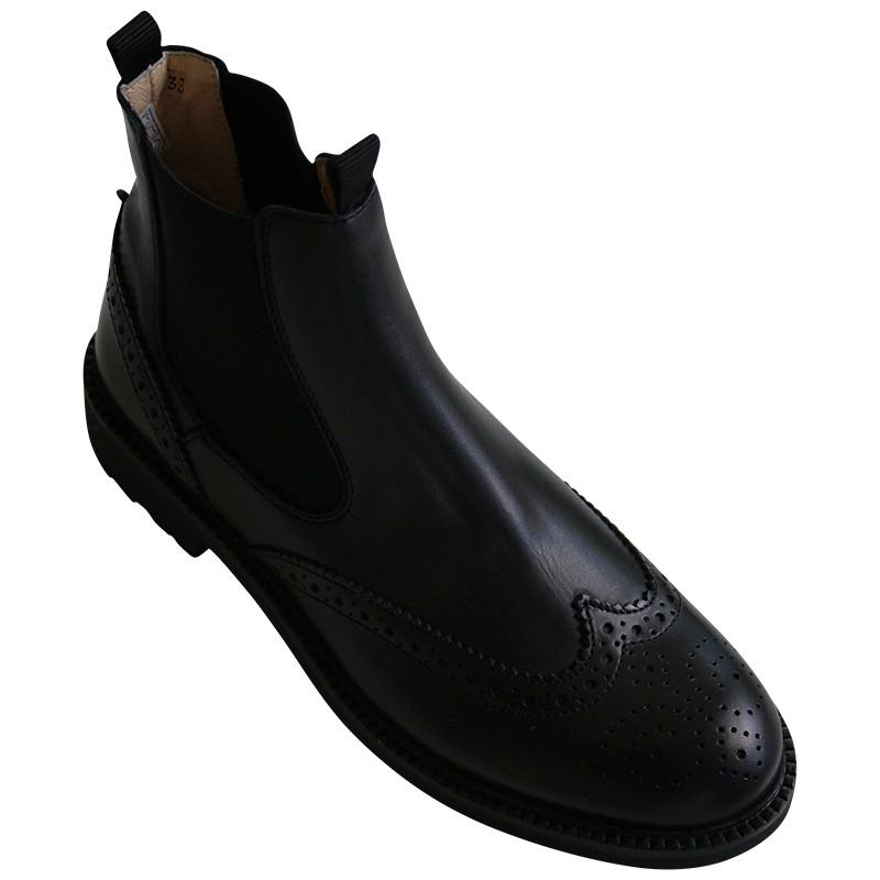 outlet store e5455 bfa7b Gallucci Chelsea Boots im Budapesterstil | Theresa - Schönes ...