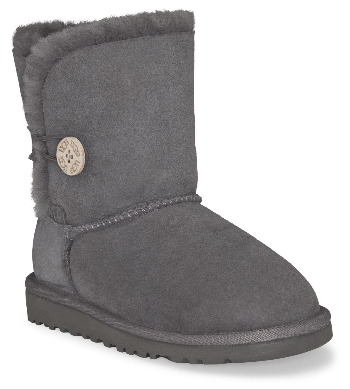 short grey bailey button uggs. Black Bedroom Furniture Sets. Home Design Ideas