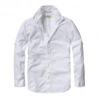 Scotch Shrunk klassisches Hemd im Knitterlook