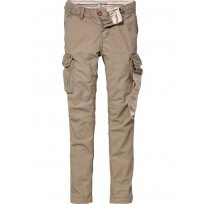Scotch Shrunk Canvas Cargo Pants
