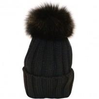 Catya Mütze schwarz