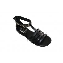 Gallucci-Mädchensandale-schwarz-mit Nieten.jpg
