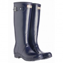 Hunter Wellington Original Tall Gummistiefel navy